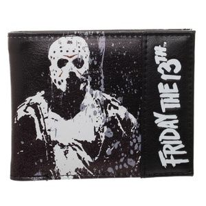 Friday The 13th Bifold Wallet Mens Jason Knife NEW